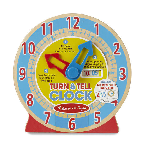 MD 4284 TURN AND TELL CLOCK