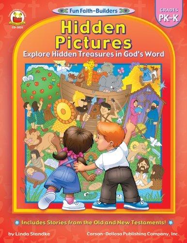 CD 2025 HIDDEN PICTURES TREASURES IN GOD'S WORD PREK-K