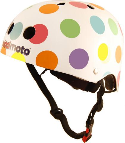 Kiddimoto Helmet, Pastel Spot, M