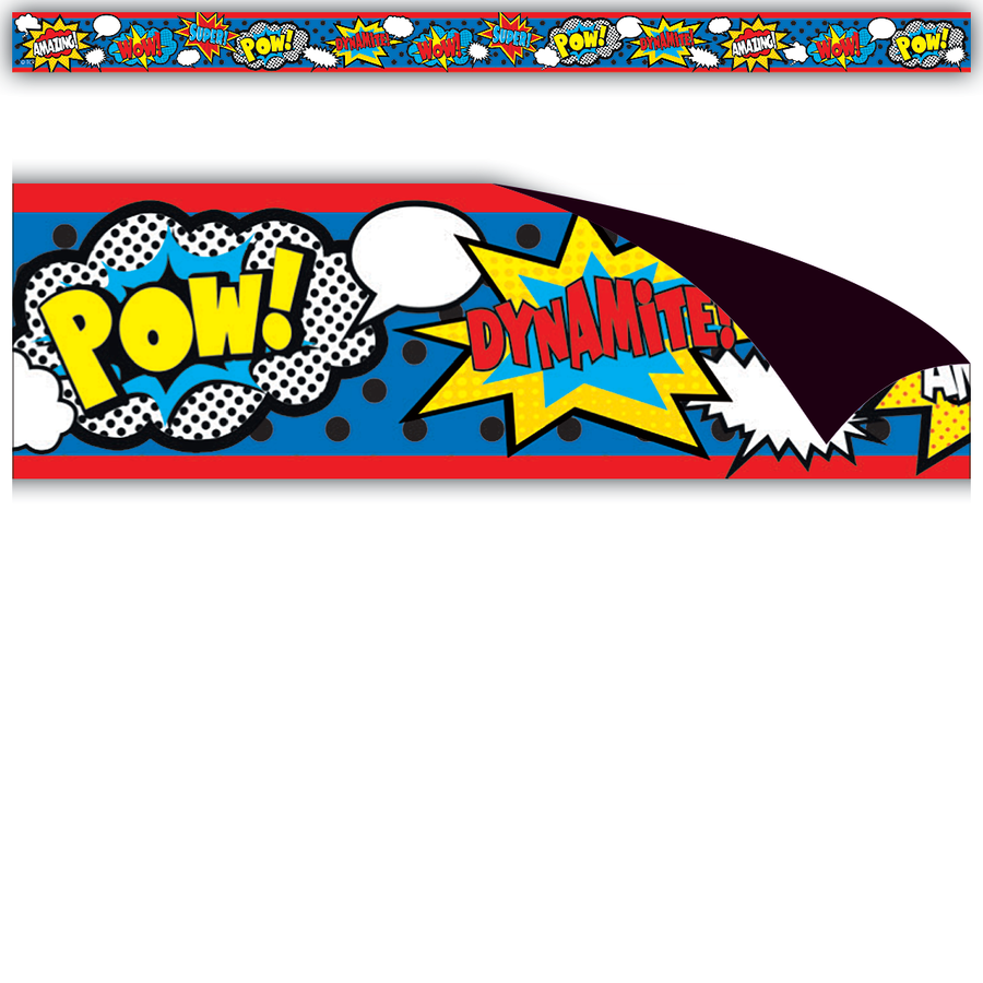 TCR 77223 MAGNETIC STRIPS SUPERHERO