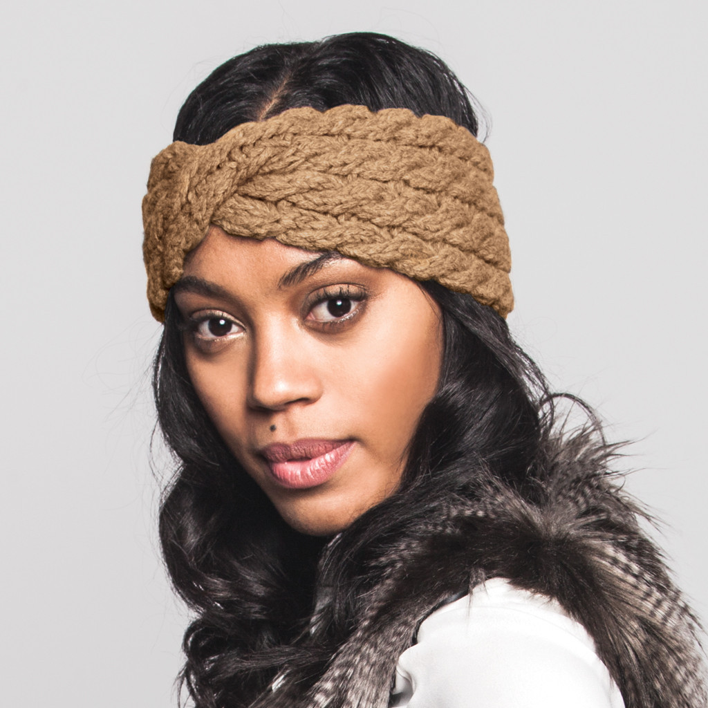RELLA - LEA HEADBAND IN CARAMEL