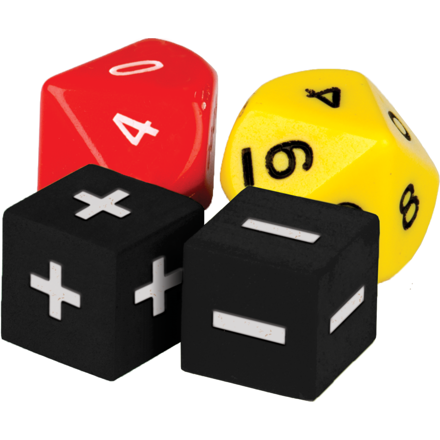 TCR 20811 ADD/SUBTRACT DICE