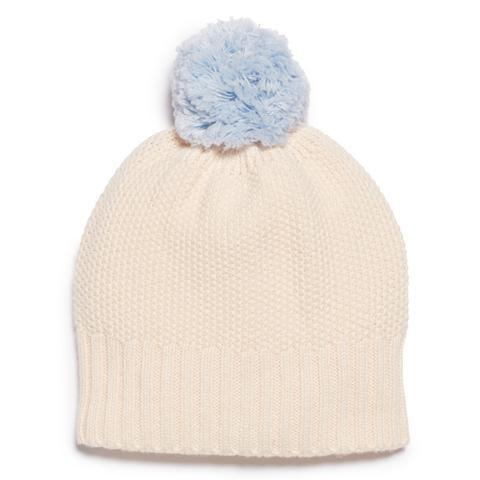 WF Blue Knitted Hat