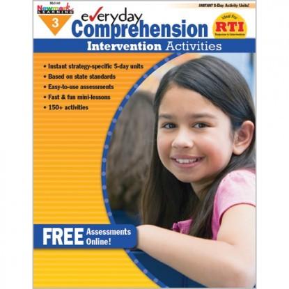 NL 0411 EVERYDAY COMPREHENSION INTERVENTION ACTIVITIES GR. 3