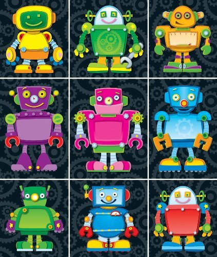 CD 168063 ROBOT PRIZE PACK STICKERS
