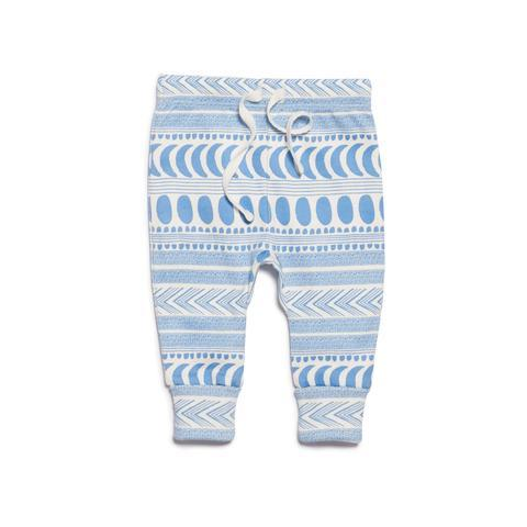 WF Moon Aztec Legging - Blue