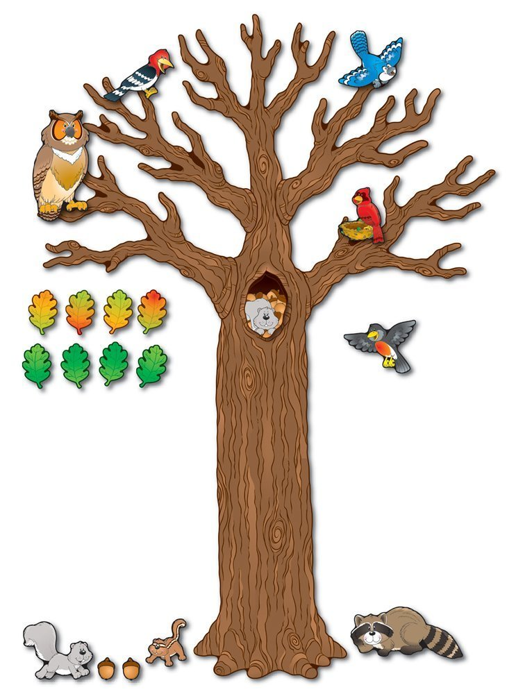 CD 110078 BIG TREE WITH ANIMALS BBS