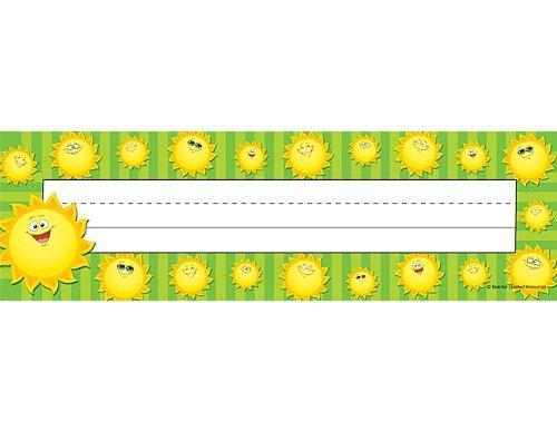 TCR 5458 NAMEPLATES HAPPY SUNS