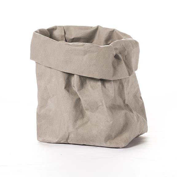 PAPER BAG GREY