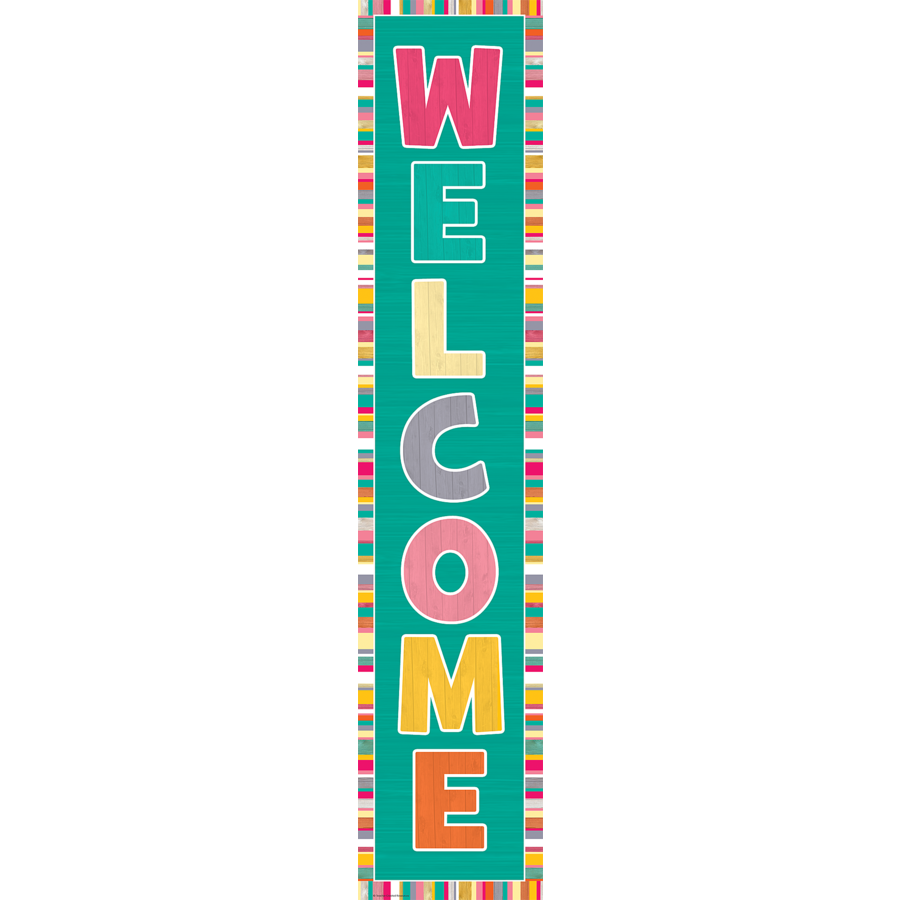 TCR 2659 TROPICAL PUNCH WELCOME BANNER