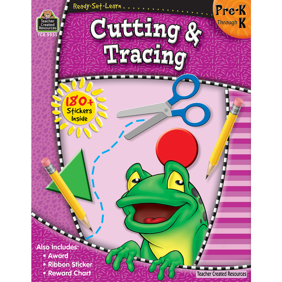 TCR 5955 READY-SET-LEARN CUTTING TRACING PRE K-K