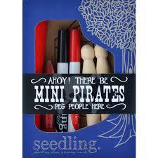 Seedling Pirate Peg People