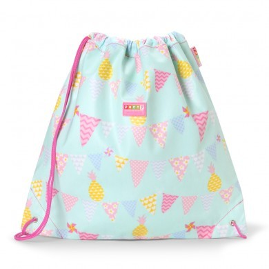 Penny Scallan NEW Drawstring Bag, Pineapple Bunting, One Size
