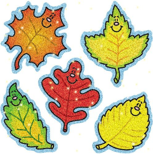 CD 2906 FALL LEAVES DAZZLE STICKERS