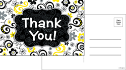 CTP 6096 THANK YOU POSTCARDS