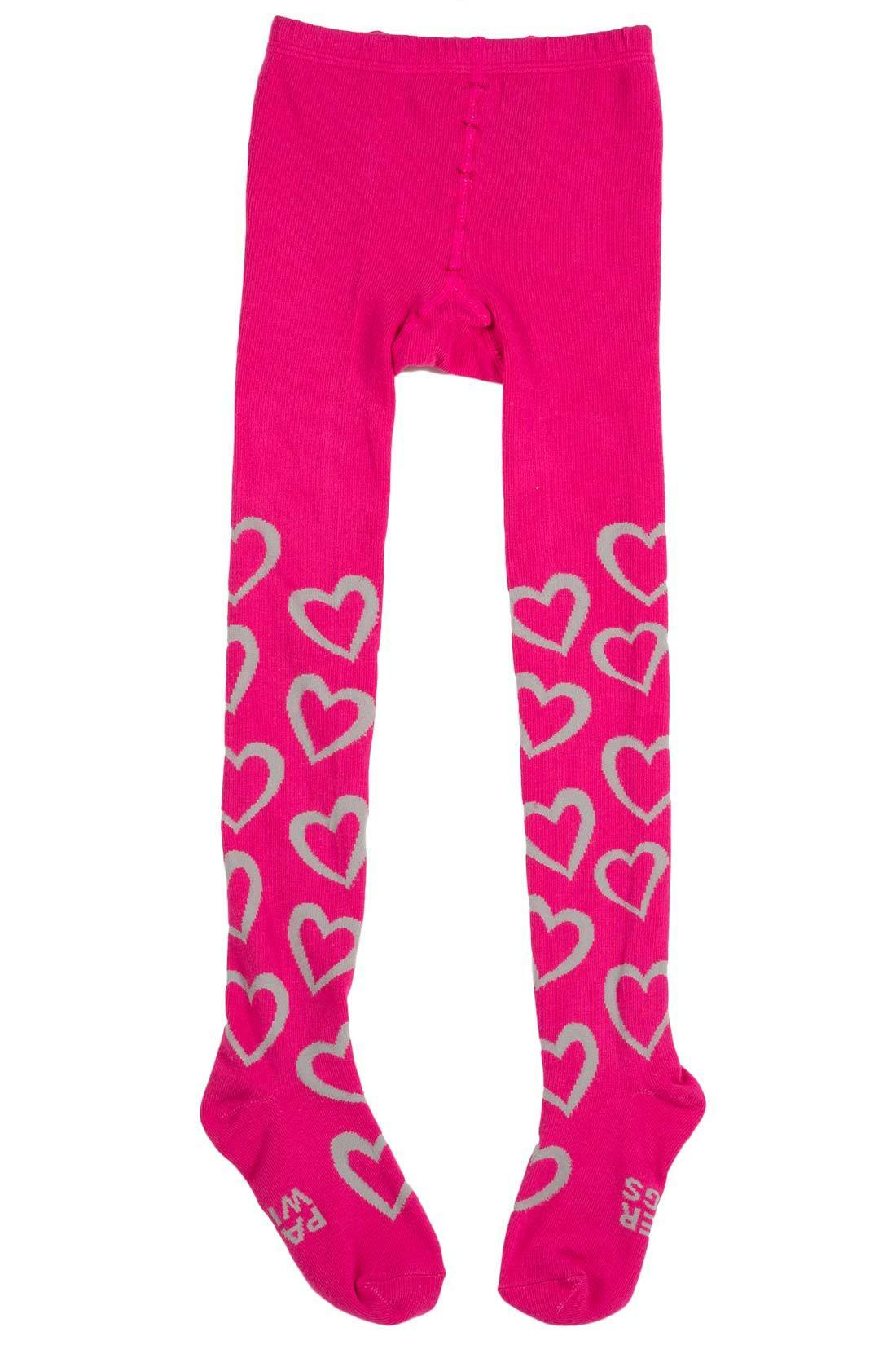 Paper Wings Tights - Hearts