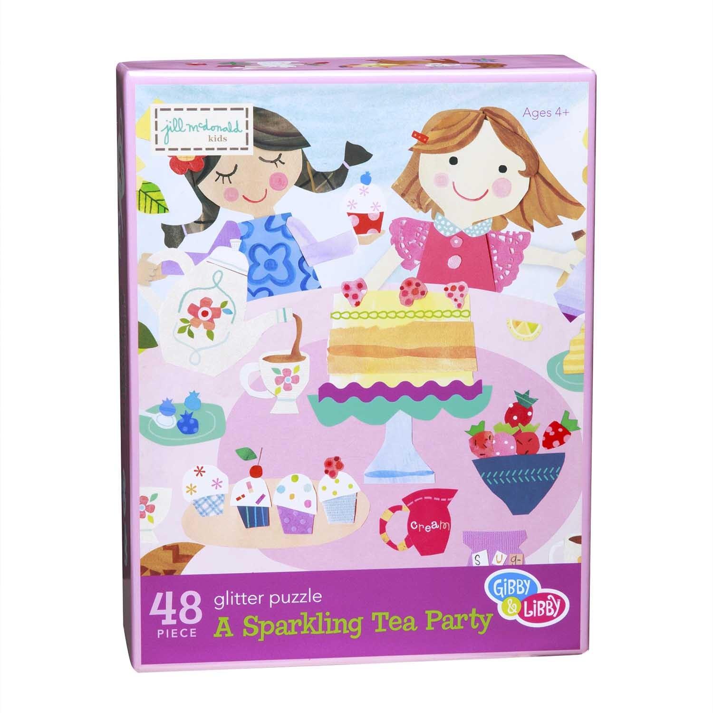 EU BKP2 16727 SPARKLING TEA PARTY PUZZLE 48 PC