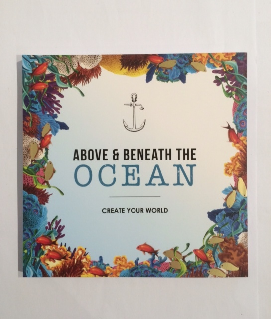 Colouring Book Above and Beneath the Ocean