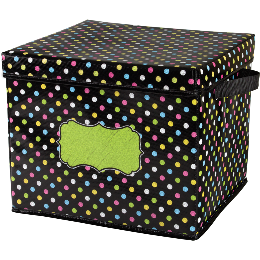 TCR 20766 STORAGE BOX CHALKBOARD BRIGHTS