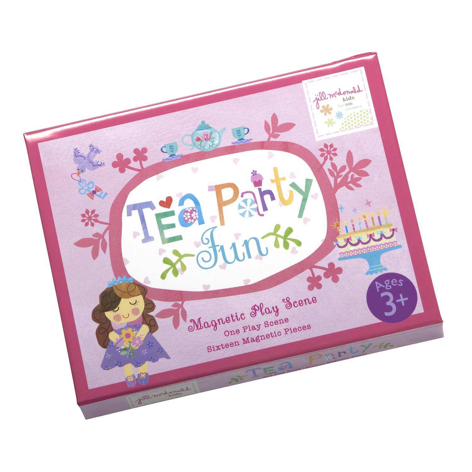 EU BMPS 14428 TEA PARTY MAGNETIC PLAY SCENE