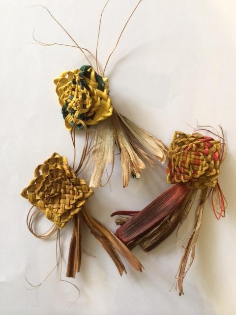 Pingao/Flax Flowers