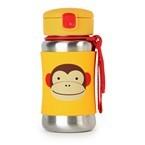 Skip Hop Stainless Steel Drink Bottle, Monkey, One Size
