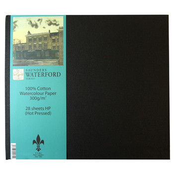 Saunders Waterford Book 300gsm Smooth (28x25cms)