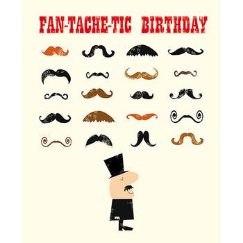 Card - Fan-tache-tic birthday