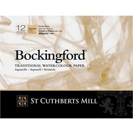 Bockingford Glued Pad 300gsm HP Smooth A3