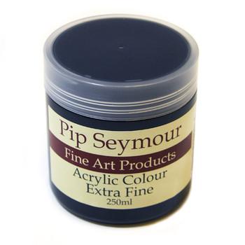 Pip Seymour Acrylic Indigo (HUE) 250ml (S2)