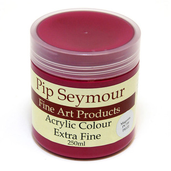 Pip Seymour Acrylic Magenta 250ml (S1)