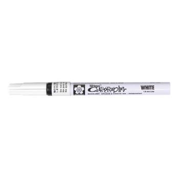 Sakura Pen-Touch Calligrapher Pen White