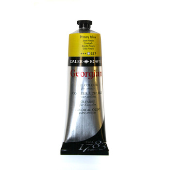 Georgian Oil 75ml Chrome Lemon (Primary Yellow)