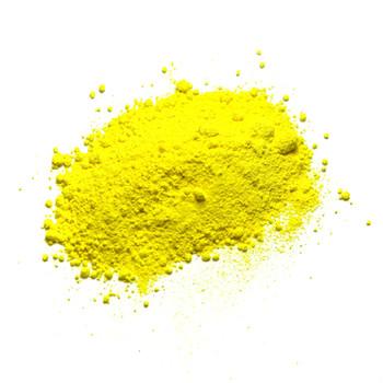 Dry Pigments Cadmium Yellow Lemon - 100g in clear 200ml pot