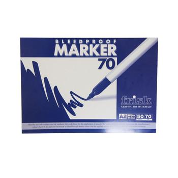Frisk Bleedproof Marker Pad 70gsm A2 50s