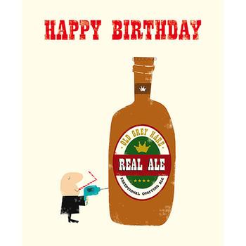 Card - Happy Birthday ale