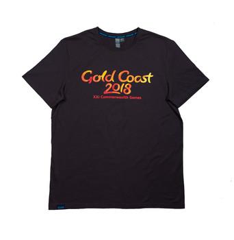 Gold Coast Script Logo Men's T-Shirt Image