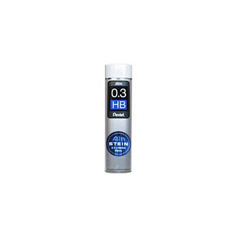 Ain Stein Pentel refill leads 0.3 mm HB x 15