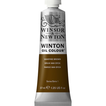Winton Oil Colour 37ml Vandyke Brown