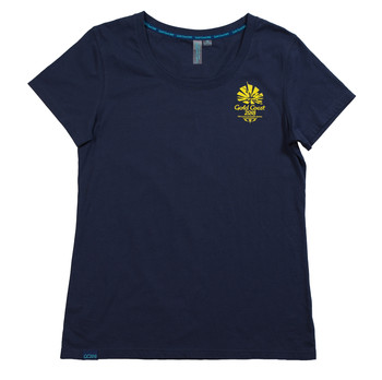 Gold Coast 2018 Women's HD Emblem T-Shirt Navy Image