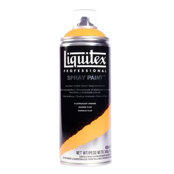 Liquitex spray fluorescent orange