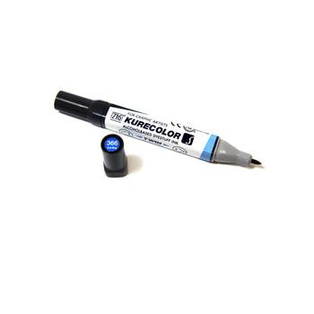 Kuretake KC3000 Graphic Marker Dull Blue
