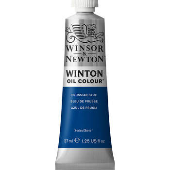 Winton Oil Colour 37ml Prussian Blue