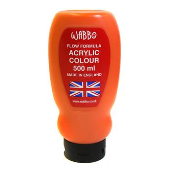 Ocaldo Acrylic Paint 500ml Cadmium Orange Hue