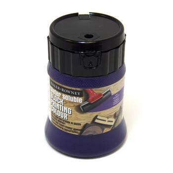 Water Soluble Block Printing Ink 250ml Violet