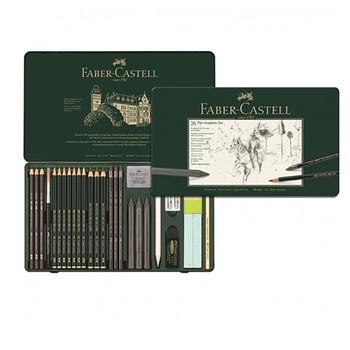 Faber Castell Pitt Monochrome Graphite Set 26