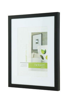 Nielsen Apollo frame black 30x40cm to fit A4 artwork