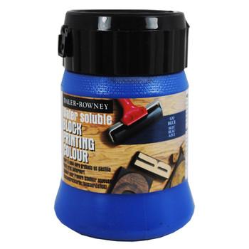Water Soluble Block Printing Ink 250ml Blue