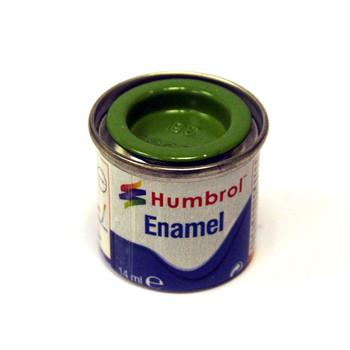 Humbrol Enamel Gloss Lime 14ml