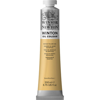 Winton Oil Colour 200ml Naples Yellow Hue